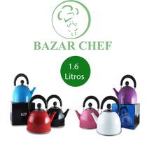 Pava Pico Matero 6 Colores 1,6 Litros - Bazar Chef