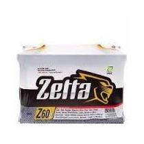 Bateria Zetta Moura 60ah -frete Grátis P/ Todo País