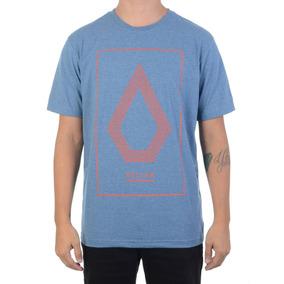 Camiseta Masculina Volcom Line Art