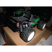 Pick Up Monster Corrida Off-road Controle Remoto Elétrica