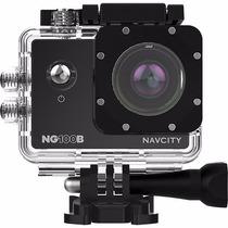 Câmera De Aventura Navcity Ng-100b 12mp Full Hd Selfie Stic
