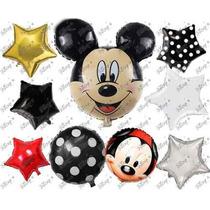 43 Globos De Mickey Mouse Fiestas Tematicas Envio Gratis