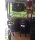 Bar Licorera Con Copero Tasca Madera Barril O Barricas Roble