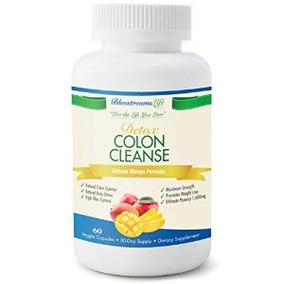 Colon Cleanse Detox - All Natural Blend Pure Limpiador De Ma