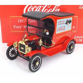 Ford Modelo T Cargo Van Coca Cola Escala 1:18