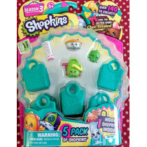 Shopkins Season 3. 5 Pack