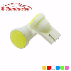 Foco Pellizco Led T10 W5w Cuartos Luz De Placa Domo Colores