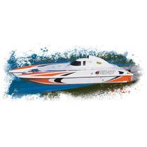 Lancha Mini Wildcat Rc Lista Para Usar, Catamaran Aquacraft