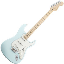 Guitarra Fender Stratocaster Squier Deluxe Maple Daphne Blue