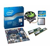 Kit Placa Mãe Intel Hdmi + Core I5 3470 3.6 Ghz + 8gb Ddr3