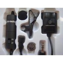 Microfone De Lapela Condensador Clip Audio Technica Atr3350