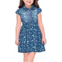Vestido Casual Para Niña Talla 1 A 3x Años Af4539