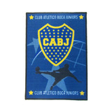 Alfombra Carpeta Boca Juniors 50x70cm Costado Cama / Entrada