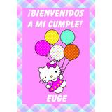 Cartel De Bienvenida/ Bautismo, Cumpleaños Personalizado