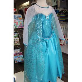 Vestido Elsa De Frozen!