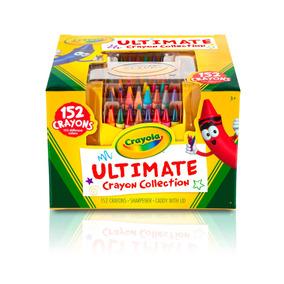 Crayola Set 152 Crayones De Colores Arte Escolar Educando