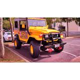 Jipe Toyota Bandeirante Fibra Amarelo