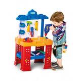 Brinquedo Com Ferramentas Bancada De Trabalho Calesita 450