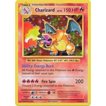 Carta Pokemon Charizard 11/108 Rare Envio Gratis