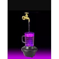 3 Fuente Tarro Cerveza Con Luz Led Que Cambia De Color Bar