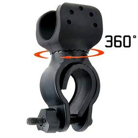 Soporte Base De Lampara Táctica Para Bicicleta 360 Grados
