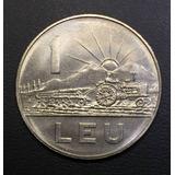 Rum007 Moneda Rumania 1 Leu 1966 Unc-bu Ayff