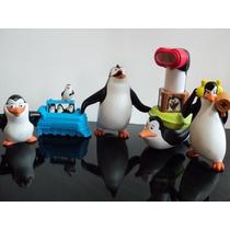 Coleção Mc Donalds - Os Pinguins De Madagascar - 5 Peças!!!
