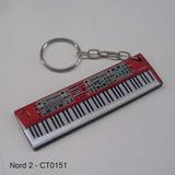 Chaveiro Instrumentos Musicais Teclados Piano