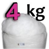 4kg Fibra Siliconada 100% Plumante Importada 1a. Linha Top