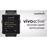 Reloj Garmin Vivoactive Smartwatch Entrenam Multideporte Gps