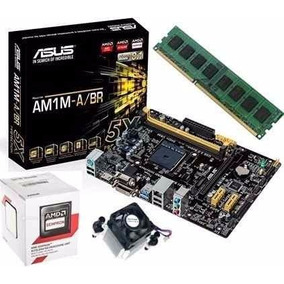 Kit Upgrade Asus Am1m-a/br + Sempron Dual Core 2650 + 4gb