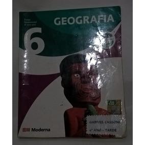 Livro Projeto Araribá Geografia 6 Ano - Editora Moderna