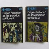 Origen Histórico De Los Partidos Políticos 1 Y 2 - L. Paso
