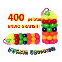 400 Pelota Alberca Economico Juguete Mayoreo Didactico Fies