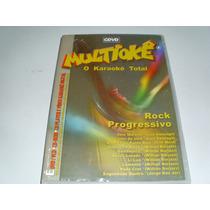 Dvd Multiokê O Karaokê Total Rock Progressivo