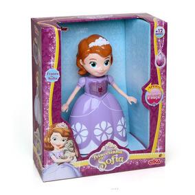 Boneca Infantil Princesinha Sofia Musical Elka