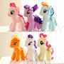 My Little Pony Kit 6 Pelucias Música Super Fofos 18cm