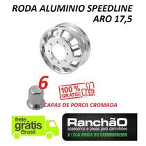 Roda De Alumínio Caminhão Aro 17,5 X 6 Speedline Vw Ford Mb