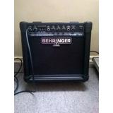 Amplificador Potenciado Behringer 20 Watts