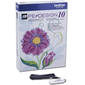 Pe Design 10 Brother Español + Pack De 150.000 Bordados