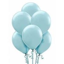 Balões São Roque N° 7 Azul Oceano Com 200 Bexigas