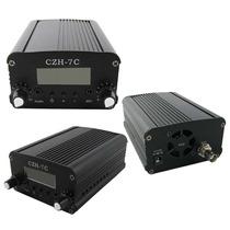 Fm Pll Stereo Digital 7w Cze - Fmuser-7c - Pronta Entrega