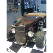 Hot Rod, Ford, Hiboy 32, Motor V8 Automatico