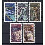 D D R 1977 Mi 2203/07** Yv 1879/83 Mint Naturaleza
