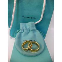 Argollas Tiffany & Co. Coleccion 1837 Oro 18k. Hermosas.
