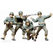Tanque Tamiya Soldados U.s.a. Army 1/35 Armar Pintar