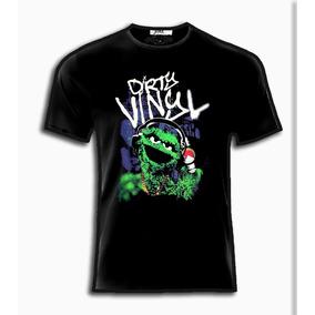 Playeras O Camiseta Oscar Dj Plaza Sesamo 100% Jinx!!