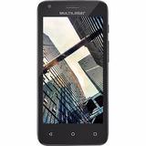 Tablet Mini - Ms45s 4,5 - Preto Quadcore 8gb Flash Nb234