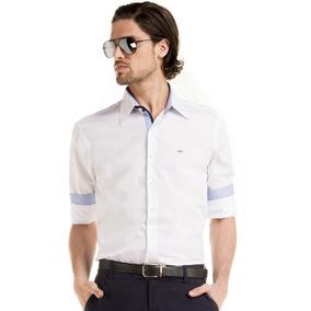 Camisa Slim Fit Branca Manga Longa Buon Giorno Joseph