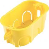 Caixa Pvc Drywall 4x2 Amarela